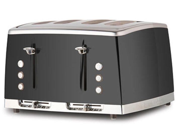 Russell Hobbs RHT64GRY Lunar 4 Slice Toaster - Grey