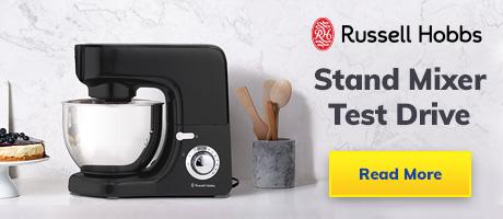 Test Driving the Russell Hobbs Desire Matte Black Kitchen Machine