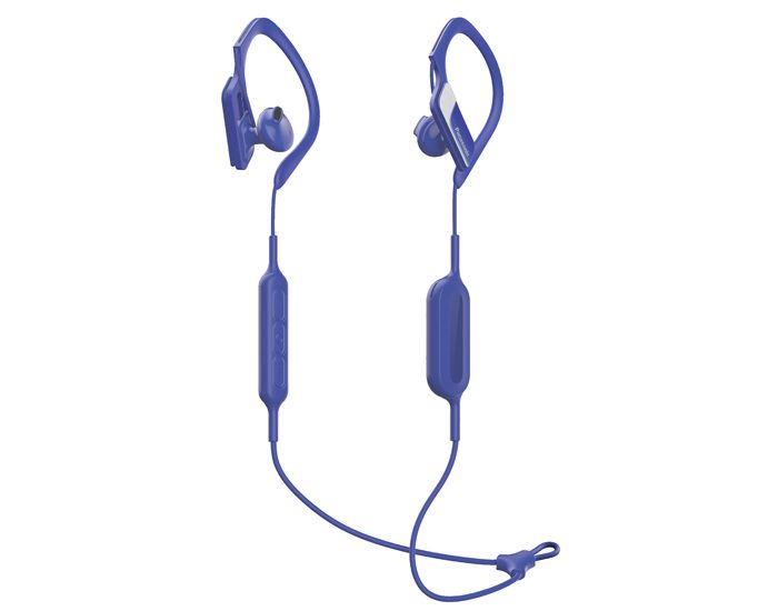 Panasonic RPBTS10EA Bluetooth Earphones - Blue