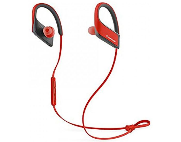 Panasonic RPBTS30ER Sports Bluetooth Earphones - Red