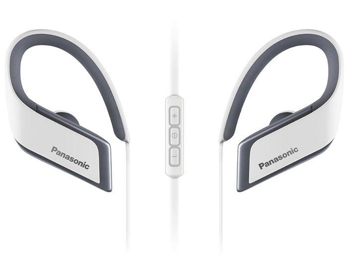 Panasonic RPBTS30EW Sports Bluetooth Earphones - White