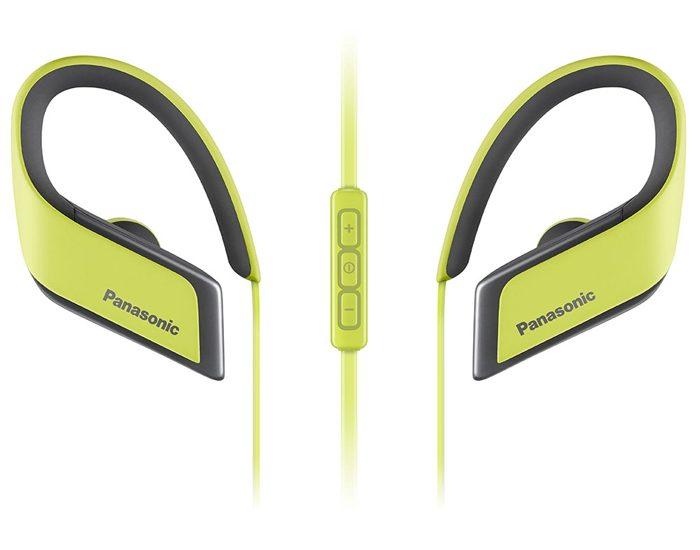 Panasonic RPBTS30EY Sports Bluetooth Earphones - Yellow