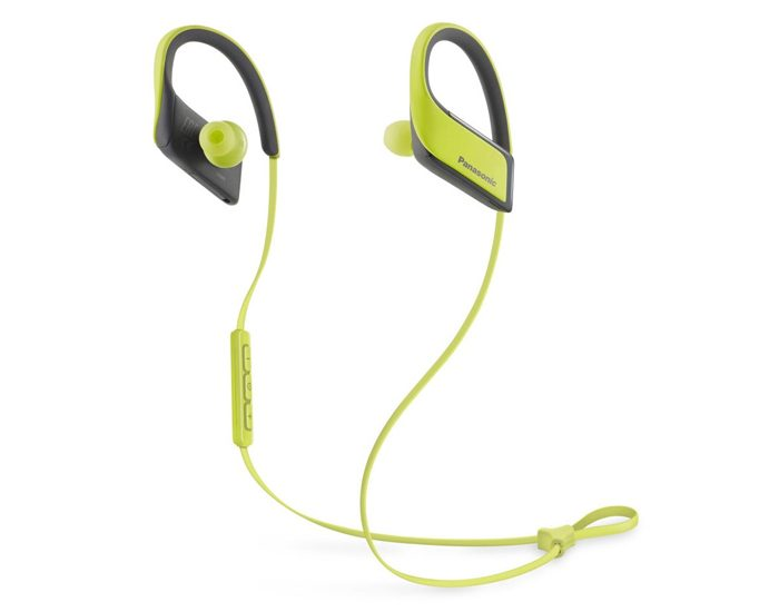 Panasonic RPBTS30EY Sports Bluetooth Earphones - Yellow
