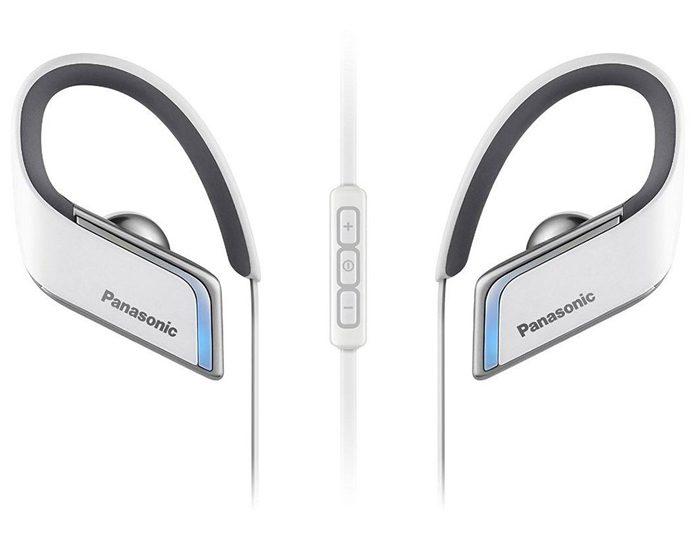 Panasonic RPBTS50EW Sports Bluetooth Earphones - White