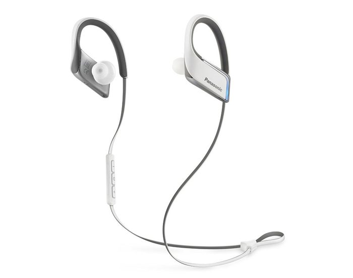 Panasonic RPBTS50EW Sports Bluetooth Earphones - White