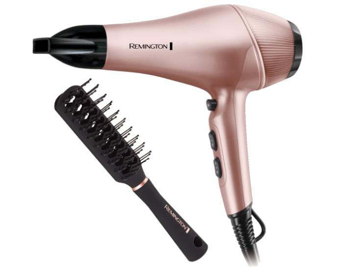 Remington AC7505AU Rose Luxury Hair Dryer Pack Brush