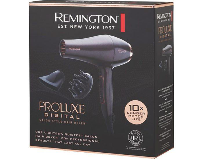 Remington BD7000AU Proluxe Digital Salon Hair Dryer box