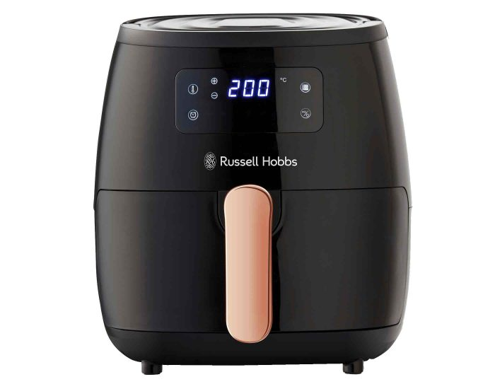 Russell Hobbs RHAF5COP 5L Brooklyn Digital Air Fryer Black Copper Main