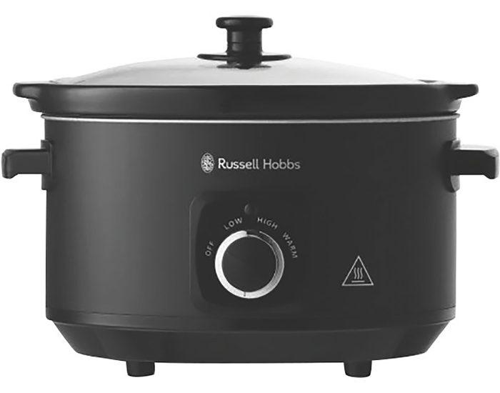 Russell Hobbs RHSC4A 4L Slow Cooker – Matte Black main