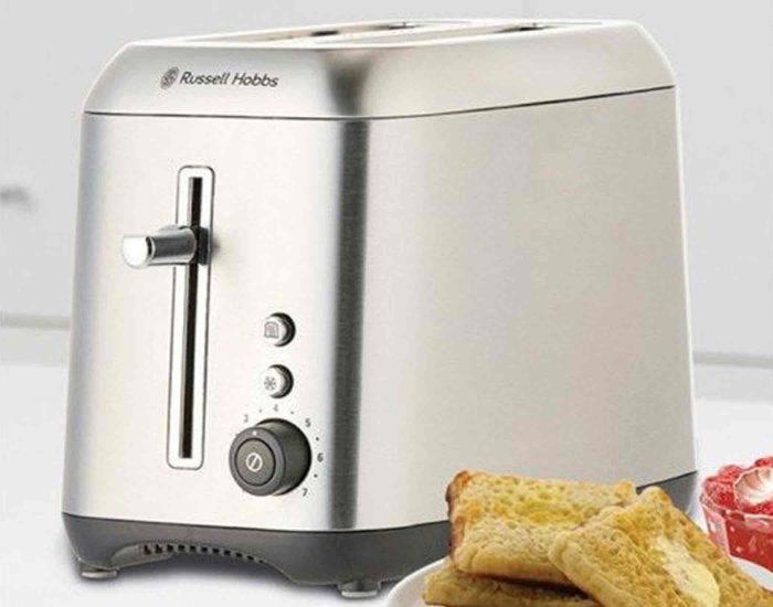 Russell Hobbs RHT82BRU Carlton 2 Slice Toaster Lifestyle