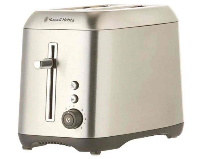 Russell Hobbs RHT82BRU Carlton 2 Slice Toaster Side