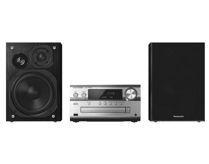 Panasonic SCPMX82GNS 120W Bluetooth Digital Micro Sound System