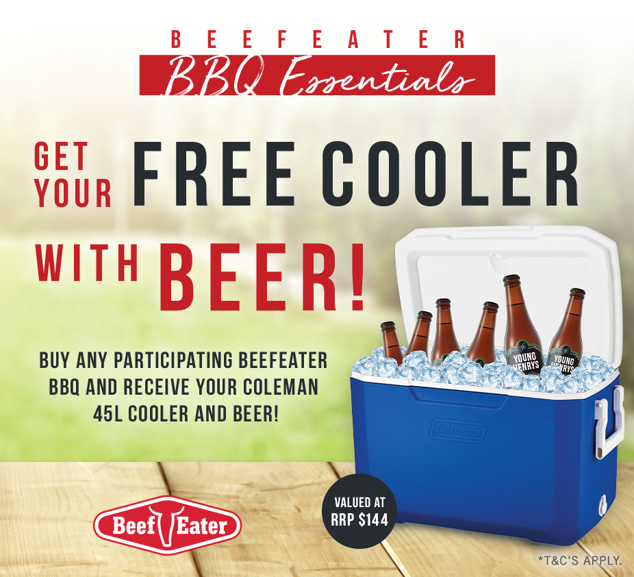 2021 Beef Eater Cooler and Beer mobile