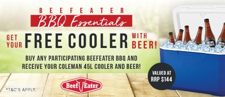 2021 Beef Eater Cooler and Beer slider