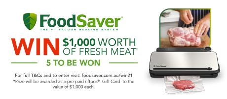 2021 FoodSaver Win Meat Slider