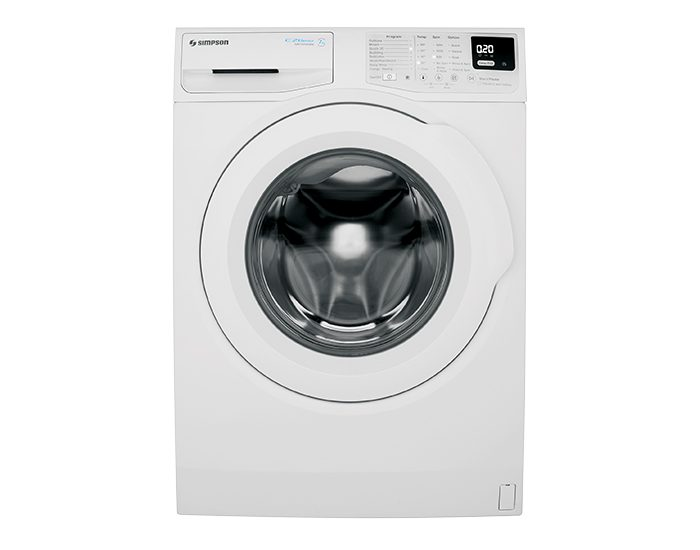 Simpson SWF8025DQWA 8kg Ezi Set Front Load Washer