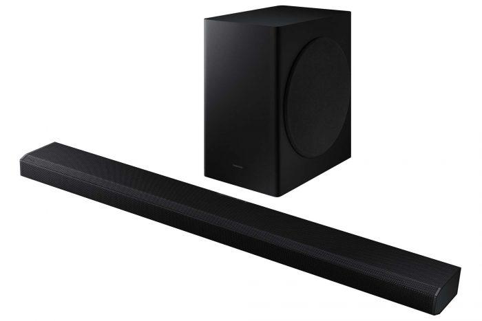 Samsung 3.1.2ch Soundbar with Subwoofer HWQ700AXY Angle