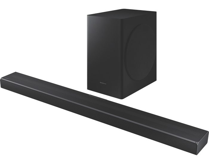 Samsung HWQ60TXY 5.1 Channel Soundbar with Subwoofer angle
