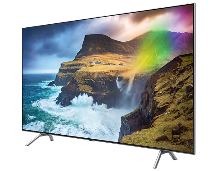 Samsung QA75Q75RAWXXY 4K UHD QLED TV Angle 2