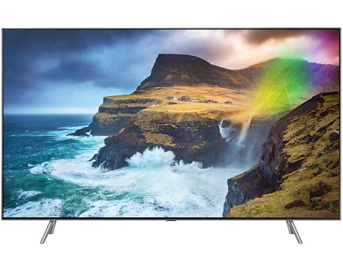 Samsung QA75Q75RAWXXY 4K UHD QLED TV Front