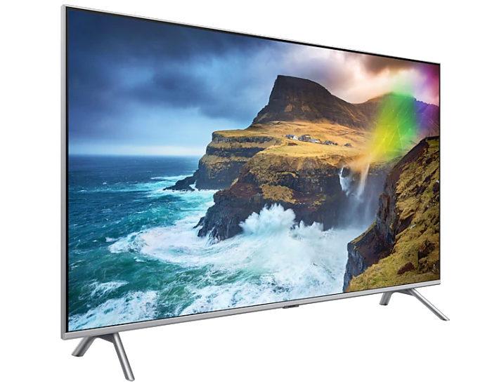 Samsung QA82Q75RAWXXY 82 4K QLED TV Angle 1