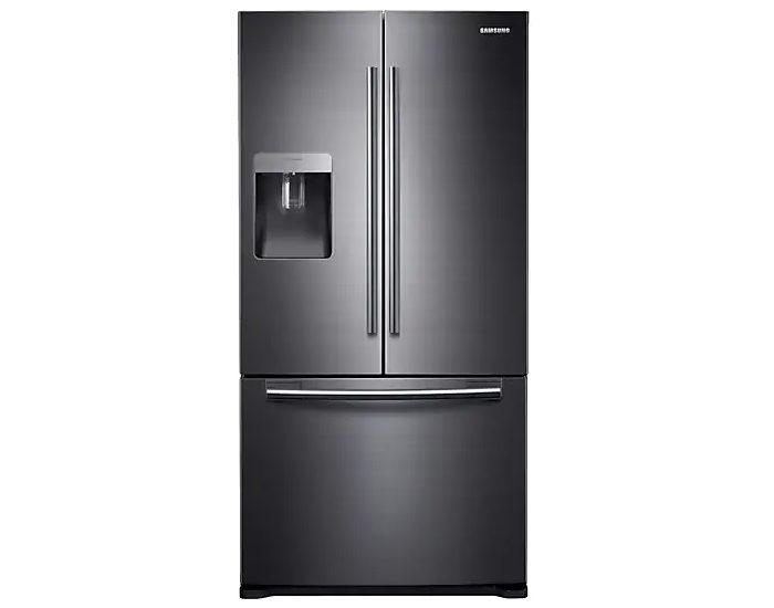 Samsung SRF582DBLS 583L Black Stainless French Door Refrigerator Main