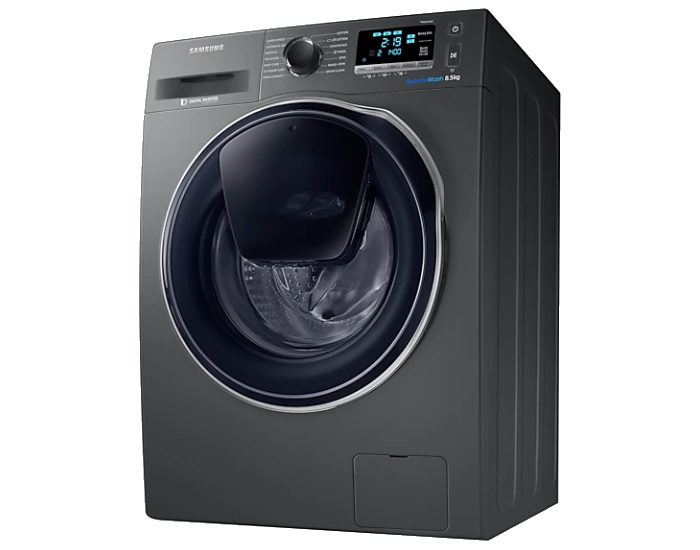 Samsung WW85K6410QX 8.5kg AddWash Front Load Washer Bottom Aspect