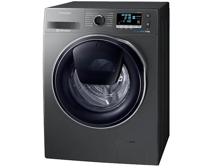 Samsung WW85K6410QX 8.5kg AddWash Front Load Washer Front Angle