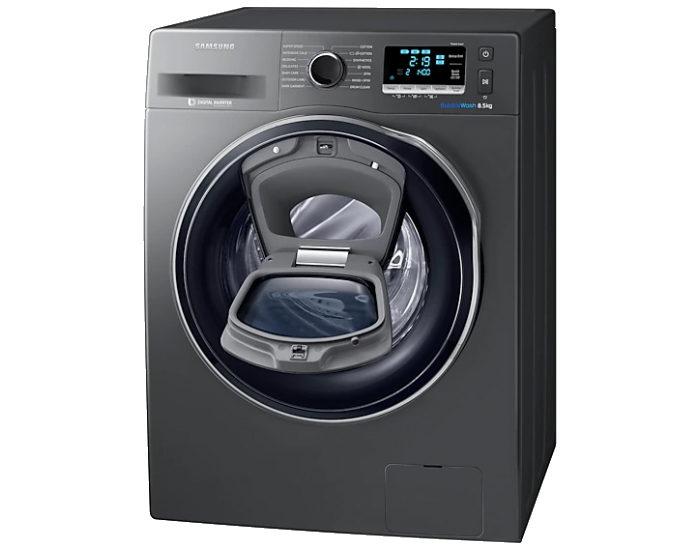 Samsung WW85K6410QX 8.5kg AddWash Front Load Washer Open Hatch
