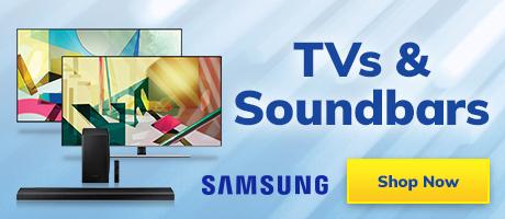 2021 Samsung Tvs and Sound bars Slider