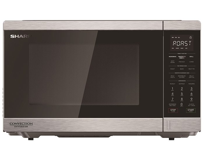 Sharp R890EST 1100W Midsize Stainless Steel Convection Microwave Oven Main