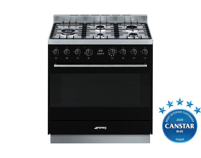 Smeg CS95GMNNA1 90cm Freestanding Dual Fuel Cooker Canstar