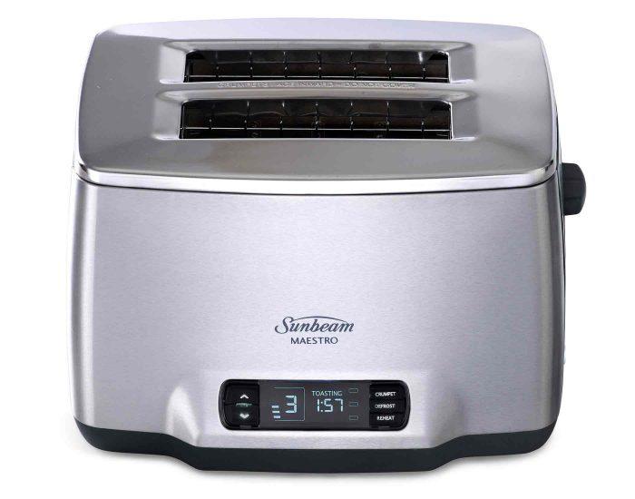 Sunbeam TA6240DS Maestro Dark 2 Slice Toaster Front