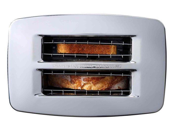 Sunbeam TA6240DS Maestro Dark 2 Slice Toaster Top