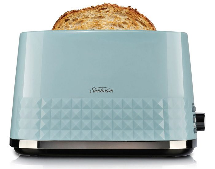 Sunbeam TA1900B Diamond Collection 2 Slice Toaster - Blue