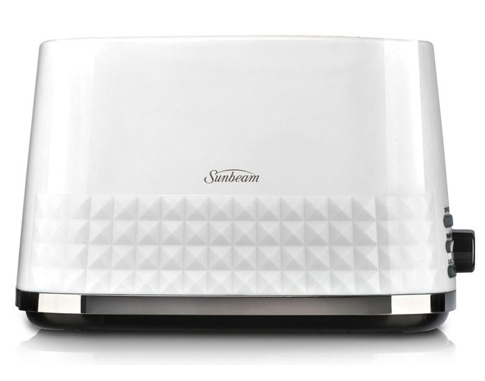 Sunbeam TA1900W Diamond Collection 2 Slice Toaster - White