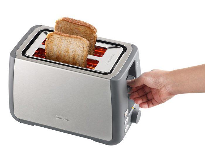 Sunbeam TA4520 Long Slot 2 Slice Toaster