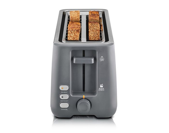 Sunbeam TA4540 Long Slot 4 Slice Toaster