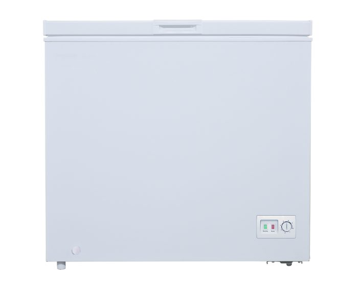 TCL F200CFW 200L Chest Freezer in White Main