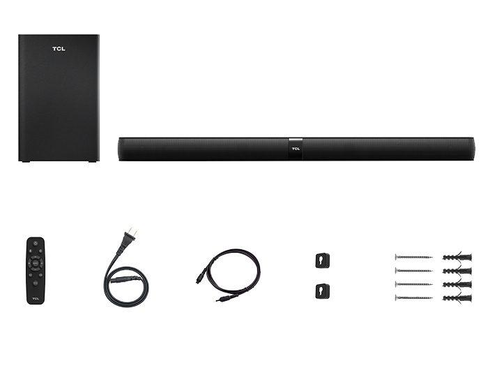 TCL TS7010 320W 2.1ch Soundbar Pack