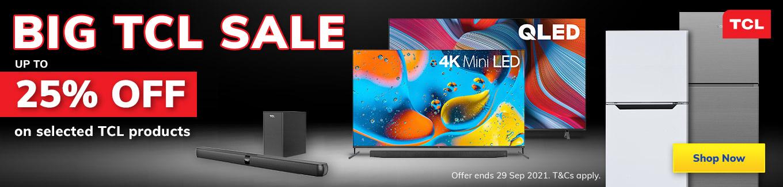 2021 TCL September Sale Desktop