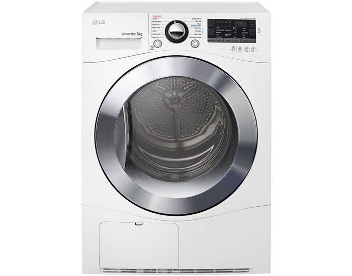 LG TDC80NPW 8kg Condensing Dryer