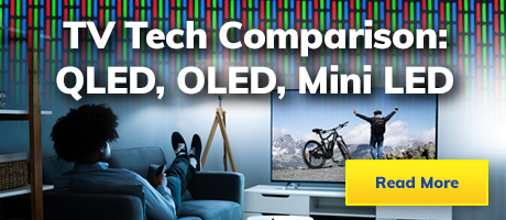 TV Tech Comparison: OLED, QLED and Mini-LED Explained