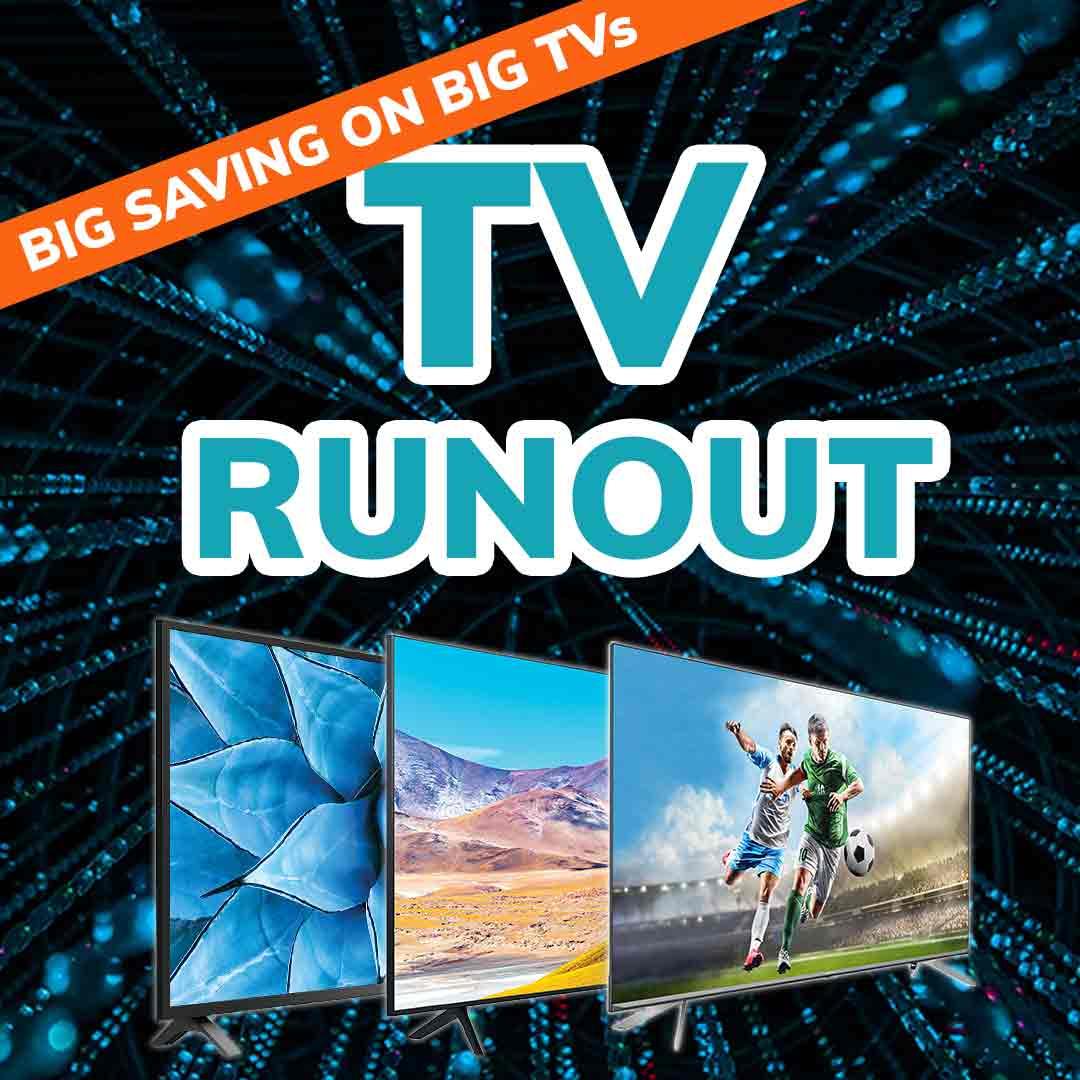 2021 TV Runout Sale mobile