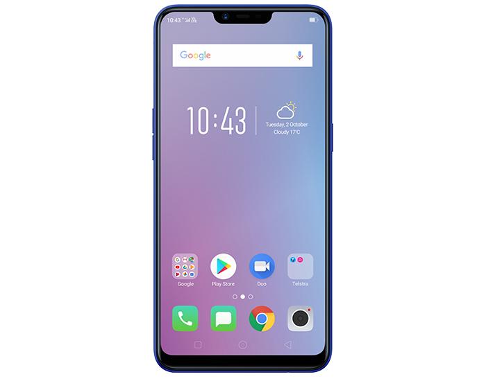 Telstra 870 Oppo AX5 4G Diamond Blue Mobile Phone