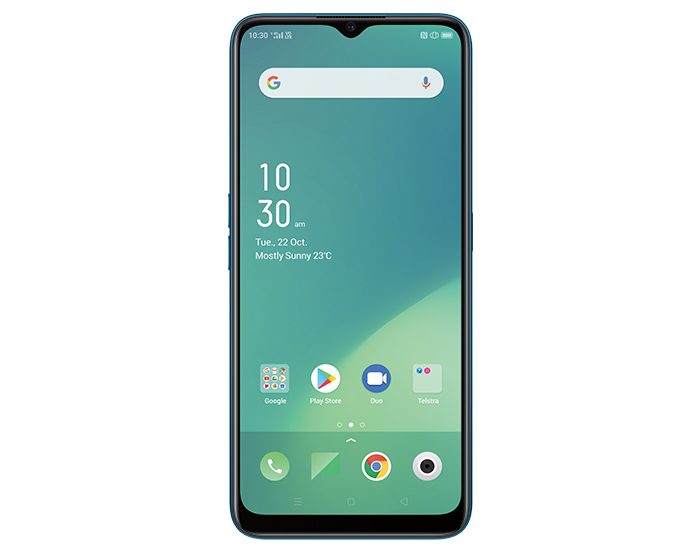 Telstra 902 Oppo A5 (2020) 4GX 6.5 Inch Screen Green Mobile Phone