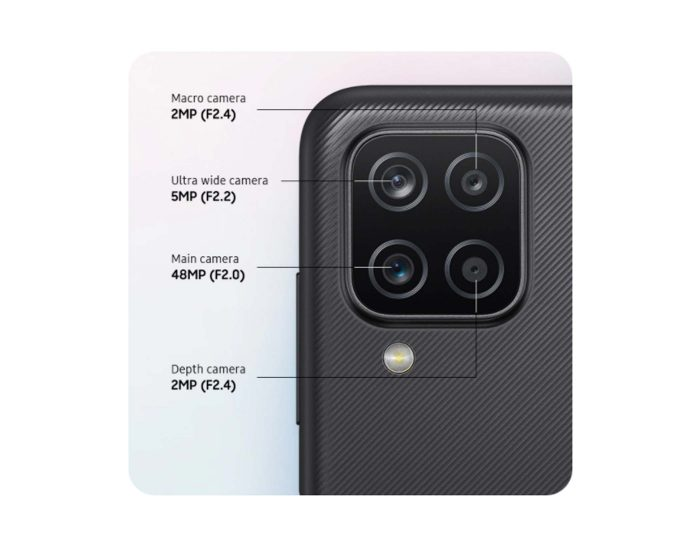 Telstra Samsung Galaxy A12 4GX Black 128gb Android Phone TE002 Camera
