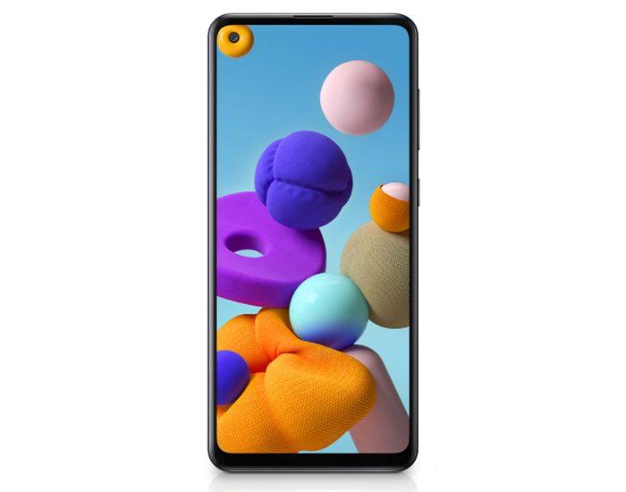 Telstra Samsung Galaxy A21s 4GX Black 128gb Android Phone TE001 Main