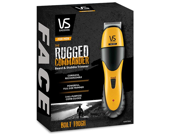 VS SASSOON VSM715NA The Rugged Commander Beard & Stubble Trimmer Carton