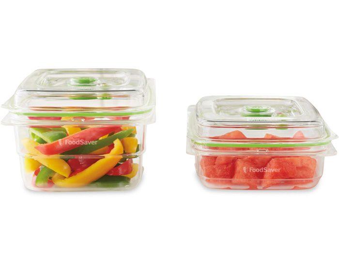 Sunbeam VS0640 FoodSaver® Fresh Containers 2 Piece Set